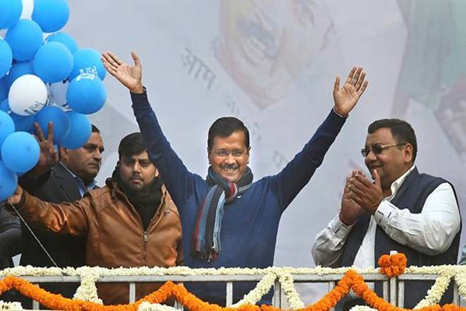 Delhi's Crown Again on Kejriwal's Head | Kejriwal's Hatrick –  Delhi Magazine
