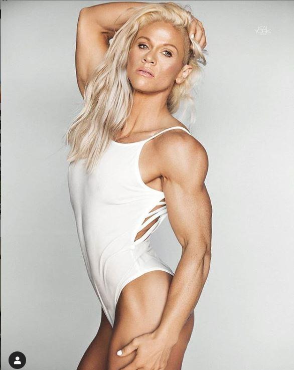 fitness model kira neuman
