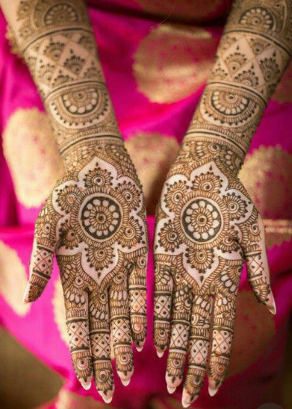 Afghani Henna Bridal designs