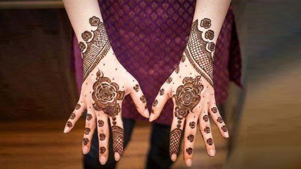 Latest Arabic Henna Design 4