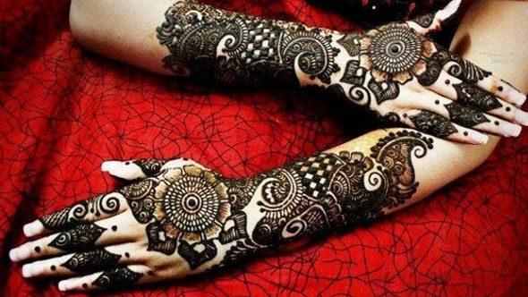 Latest arabic mehndi design 2