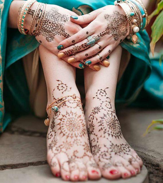 top Bridal mehndi designs