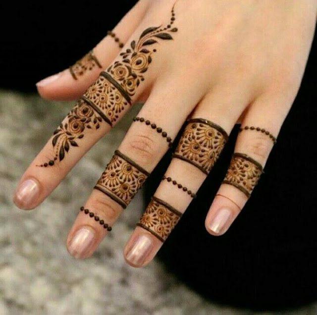 Finger-Mehndi-Design