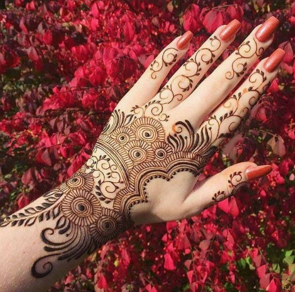 latest Japanese Henna designs