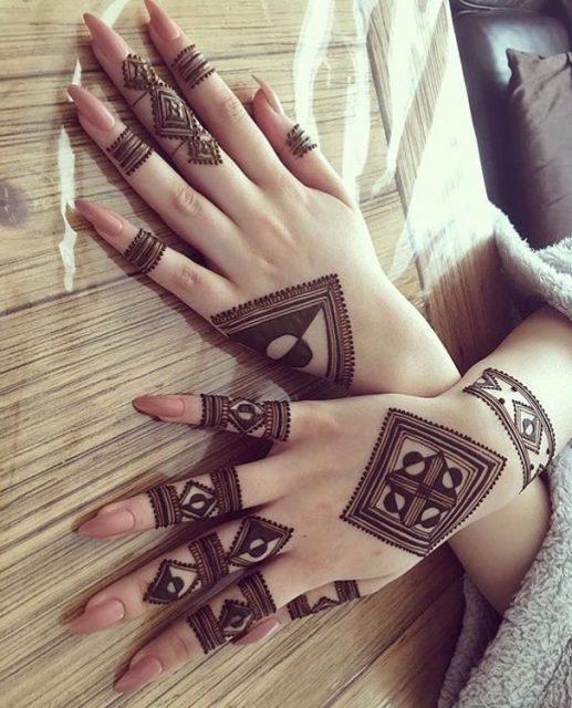 top Moroccan Mehendi Design 2