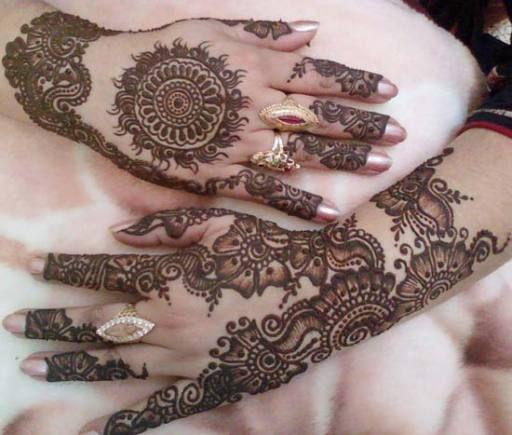 Latest Arabic beautiful mehandi design 2
