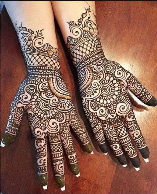 Mehandi - Beautiful Arabic Mehandi (henna)Design
