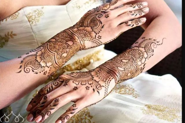 Mehandi - Europian Bridal Mehandi Design
