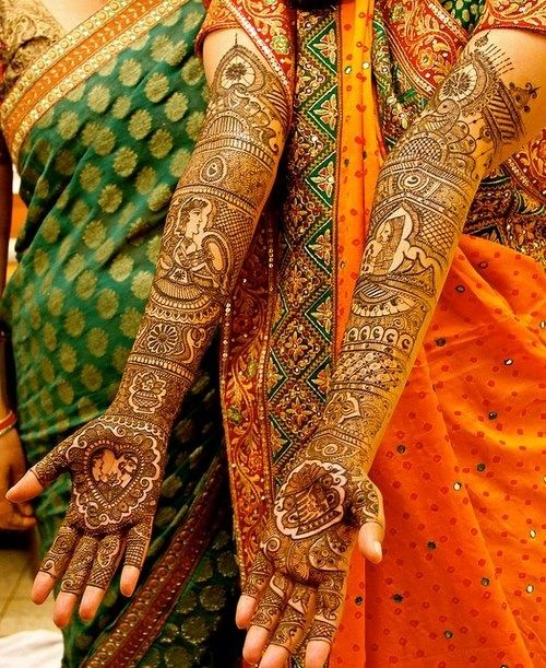 Latest Full hand Indian Henna Designs