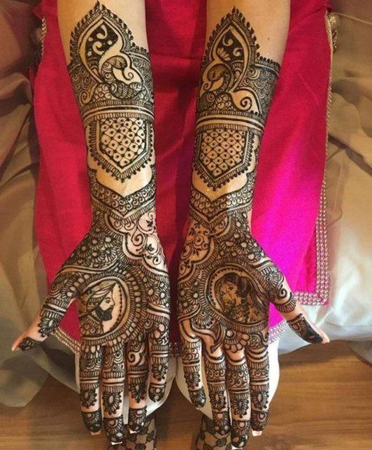 Latest Indian Punjabi mehndi designs