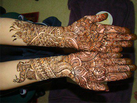 Mehandi - african henna design beautiful