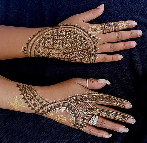 Mehandi - african mehndi designs