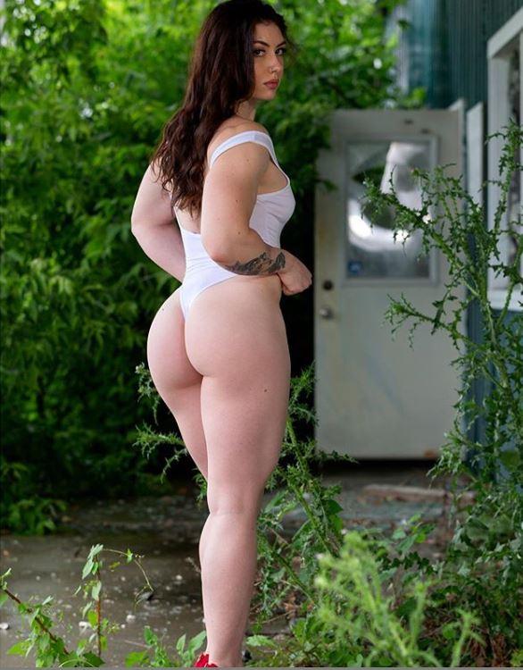 Natasha aughey curvy big ass