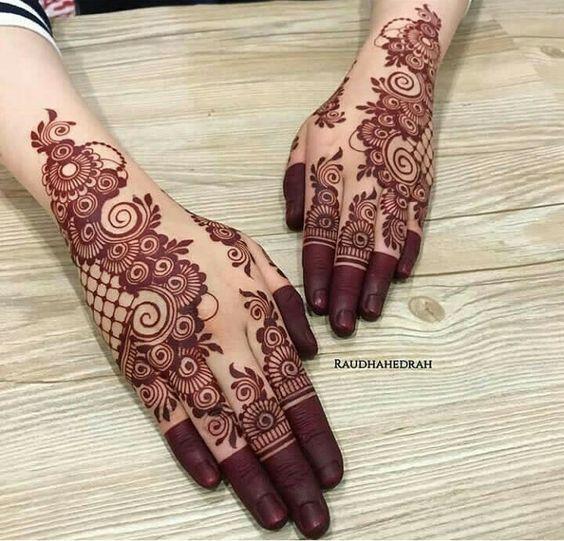 beautiful bridal mehndi designs 1