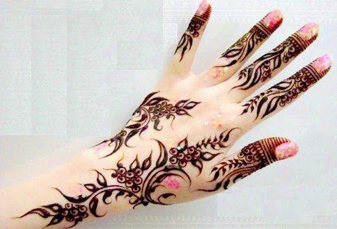 latest european mehndi ( henna) designs