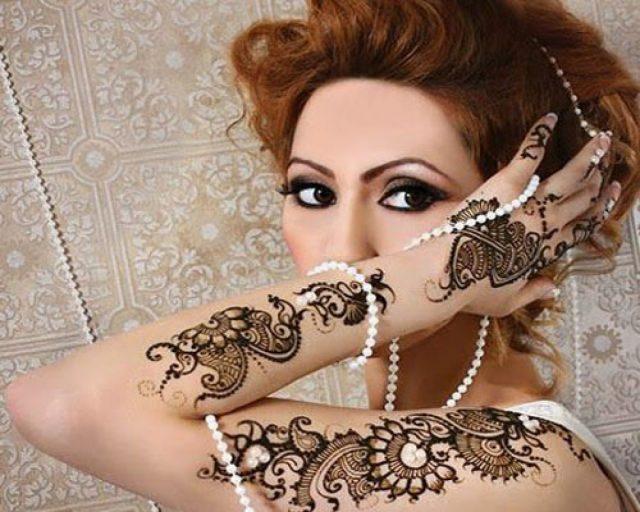 popular mehndi designs in Europe