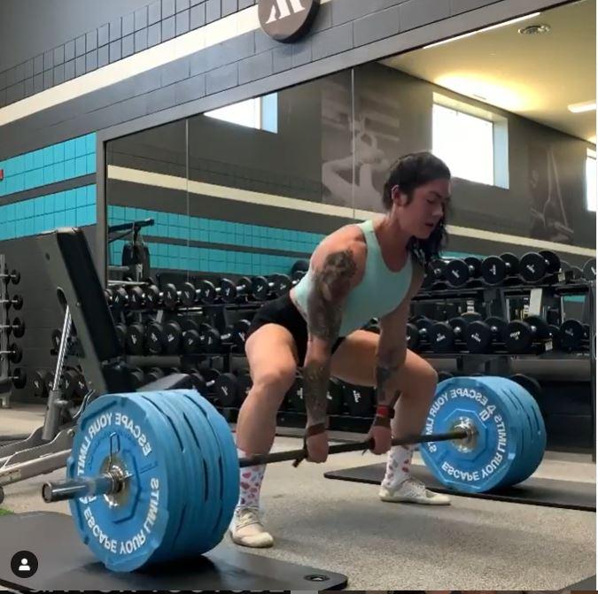 natasha power lifting