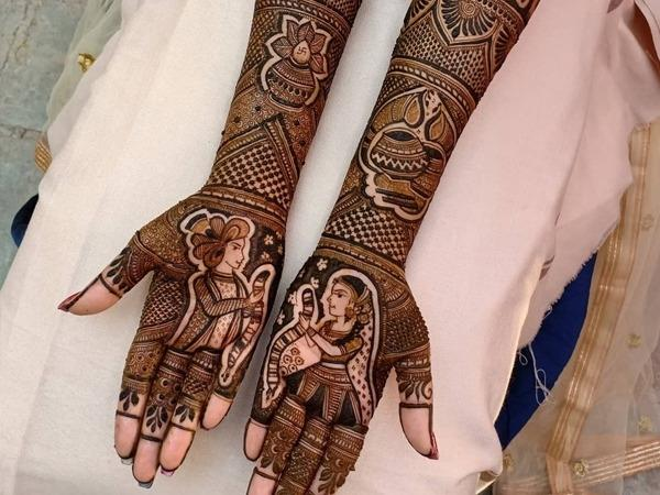 trendding bridal mehndi designs