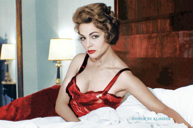 evergreen Spanish actress Sara Montiel