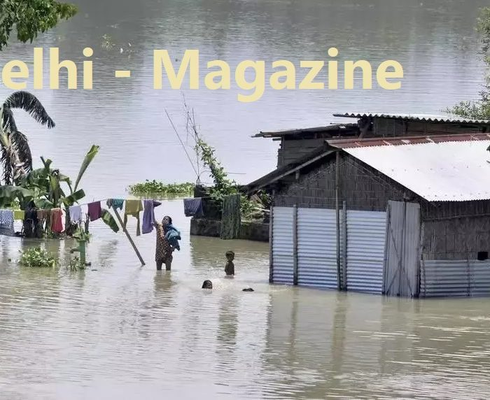 asam and bihar flood