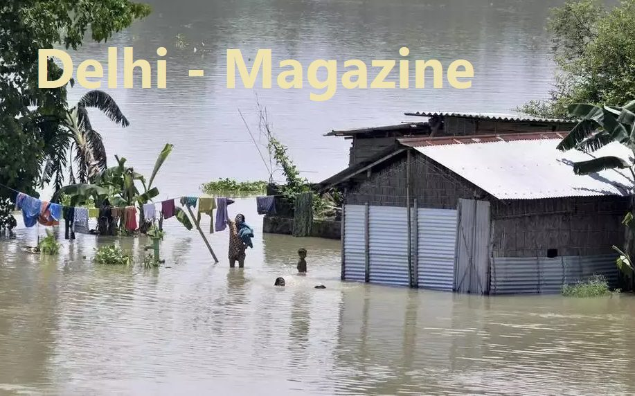 asam and bihar flood