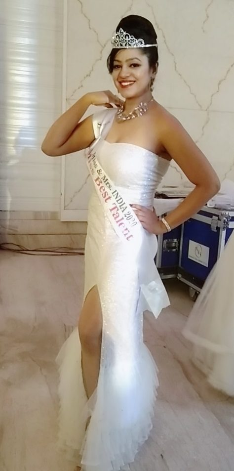 beauty contest winner Priyanka Roy