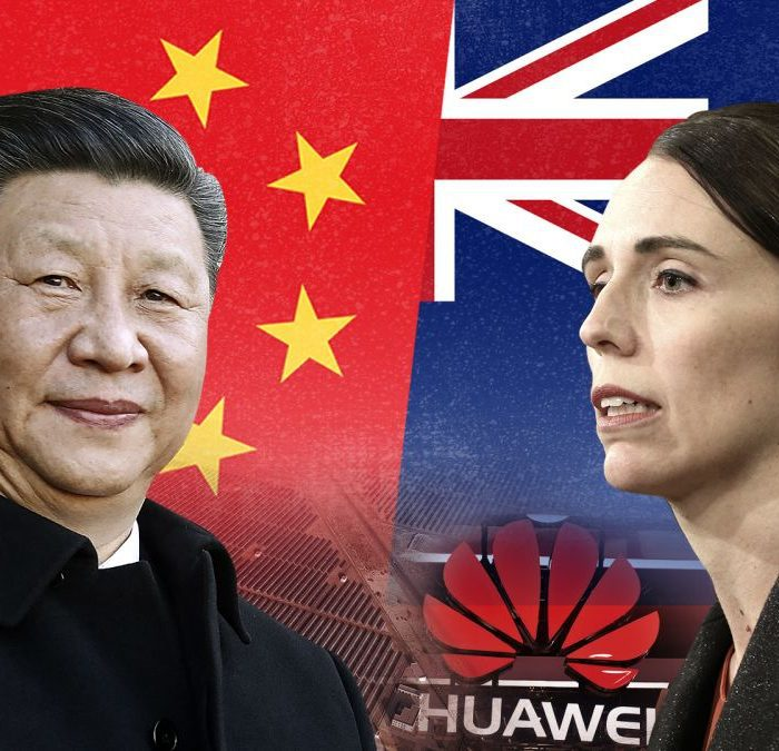 china and newzealand on hongkong