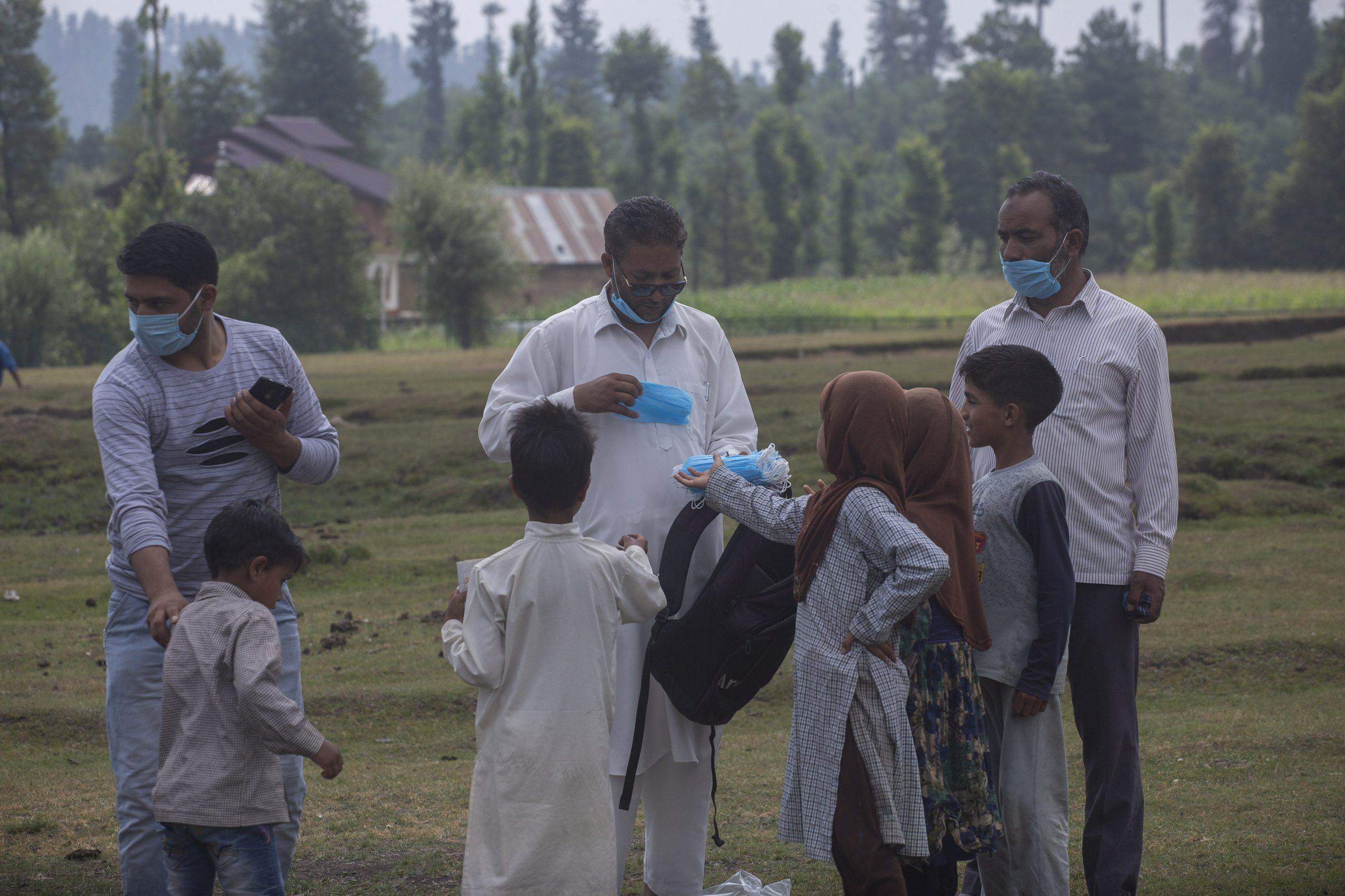 open air community schools in Indian Valley
