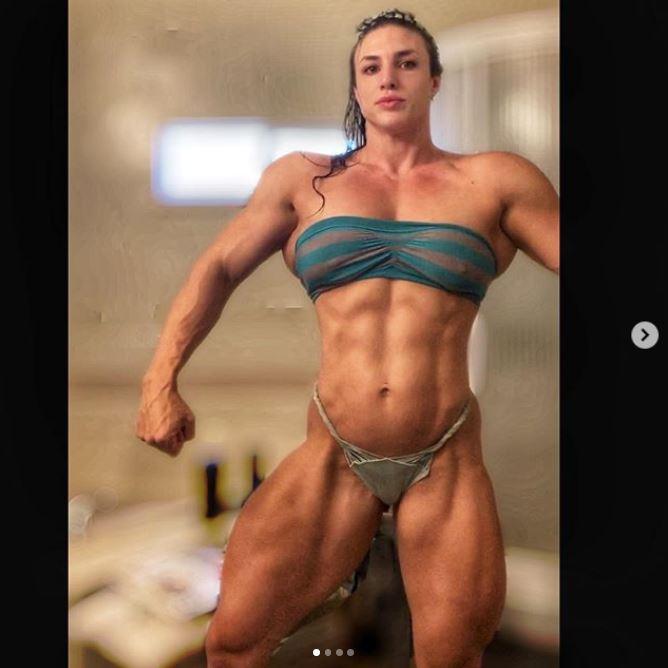 body builder kaitlyn vera in bikini hot pics