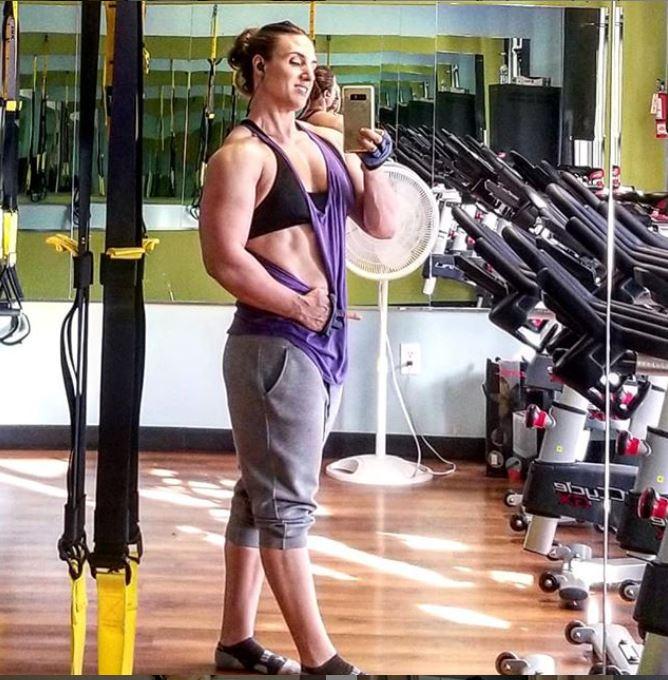 Kaitlyn Vera in Gym