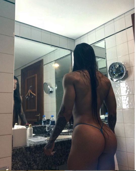 Bakhar Nabieva nude pic- showing her body muscles