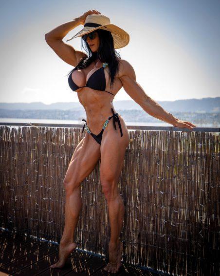 Cindy landolt muscle woman