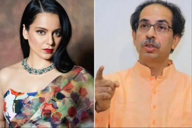 Kangna vs bcm and uddhav thakre