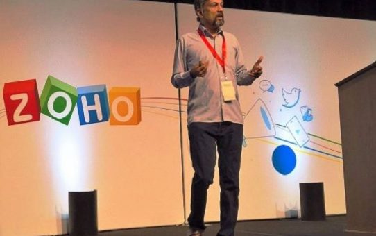 Sridhar Vembu, Founder and CEO of Zoho