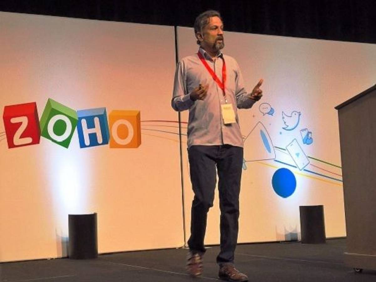 Sridhar Vembu, founder and CEO of software development company Joho Corp