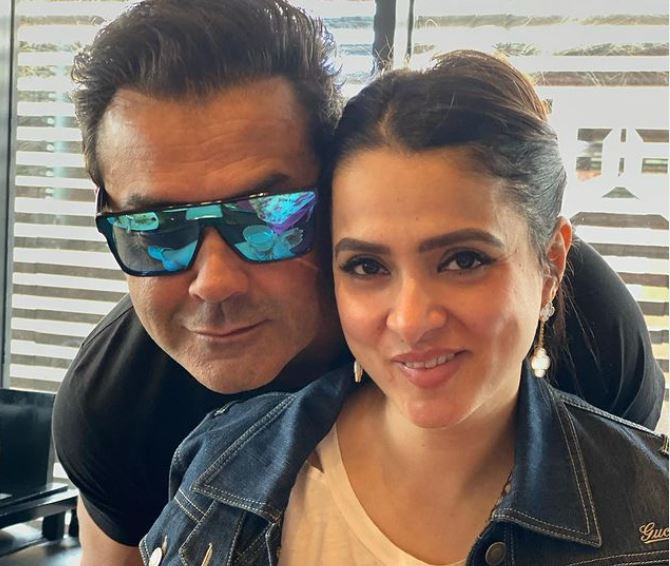 Boby deol and his wife tanya deol