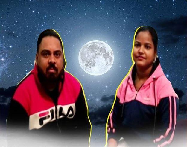 dharmendera aneja and his wife sapna who bought land on moon