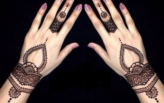 Simple and Easy Mehndi Designs for Back Hand and Front Hand