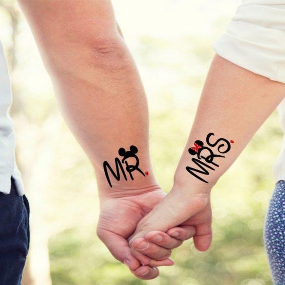Mr and miss tattoo pics
