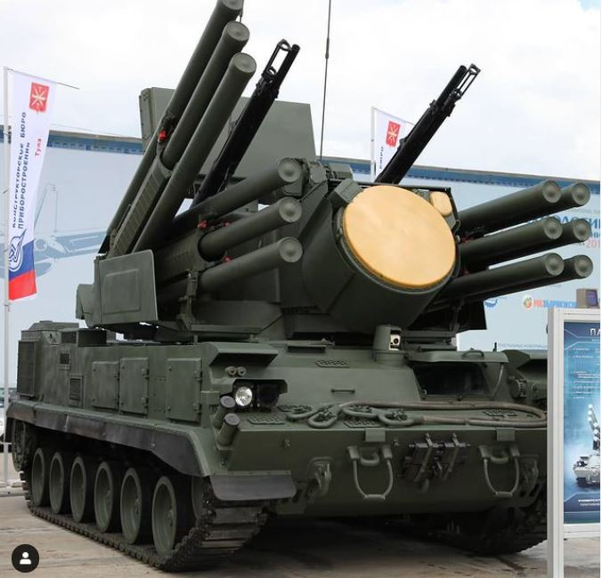 Pantsir missile system
