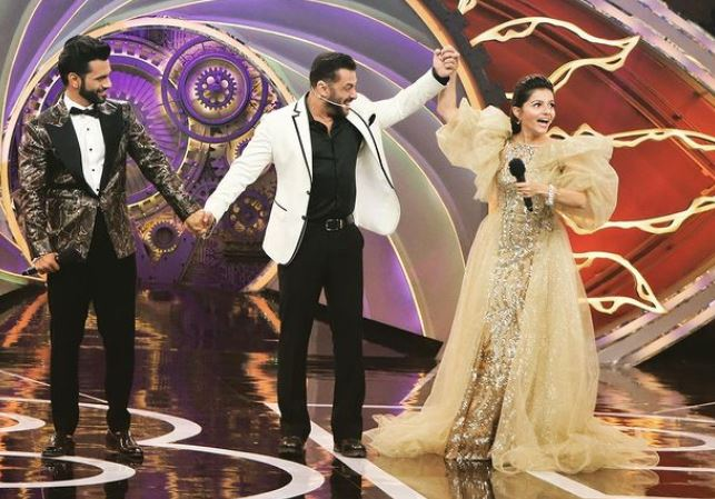 rubina dilaik won big boss 14 troffy
