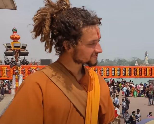 Ben baba in Haridwar, India