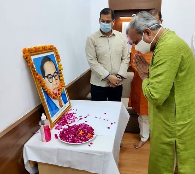 BJP delhi president on ambedkar jayanti