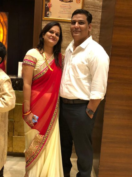 Kapil and Ruchi Mishra
