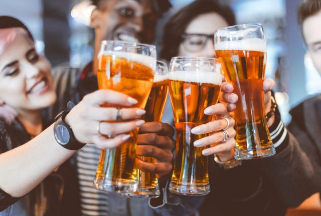 Free beer on vaccination in america