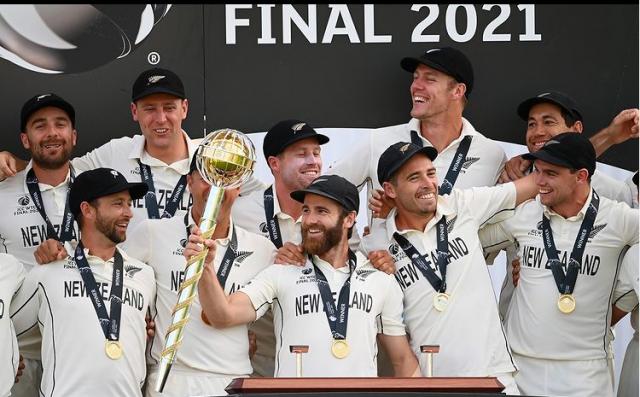 ICC 2021 winner team newzealand