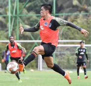 India' s star footballer sunil chhetri