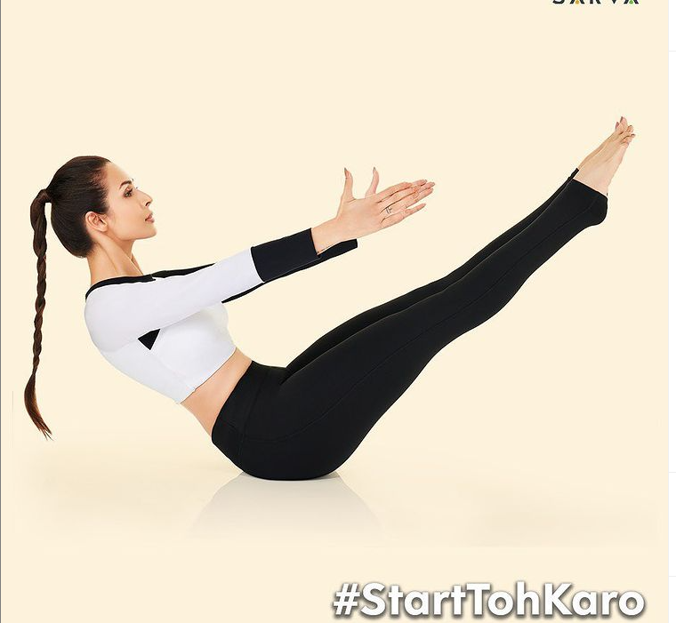 Malaika Arora's New Avatar – Yog Kanya with #StartToKro Campaign