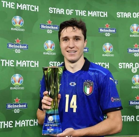 euro 2021 semifinal winner italy' captain