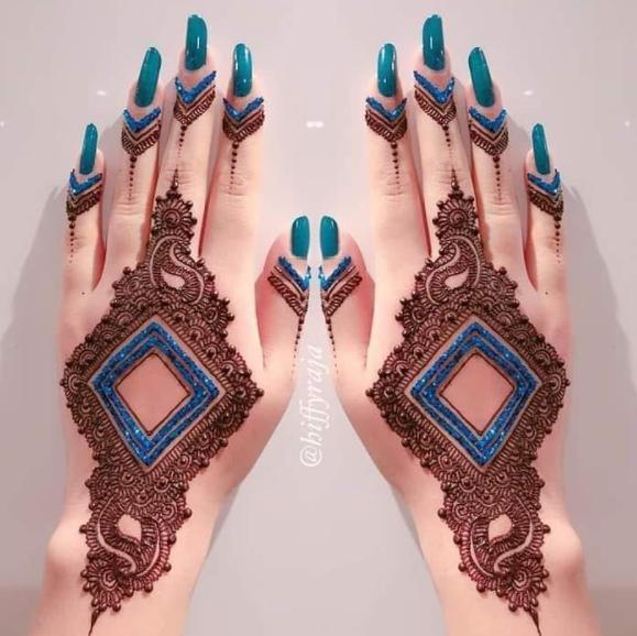 Latest Mehndi Designs for Hariyali Teej